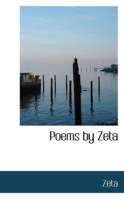 Poems by Zet N/A 9781115352420 Front Cover