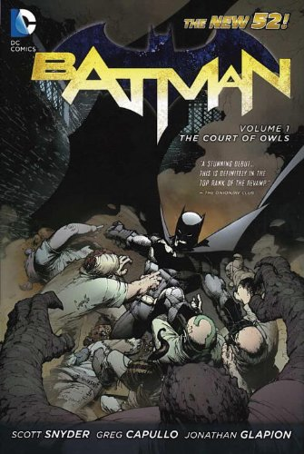 Batman The Court of Owls  2012 9781401235420 Front Cover