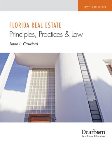 Florida Real Estate Principles, Practices and Law 32nd Edition  32nd edition cover