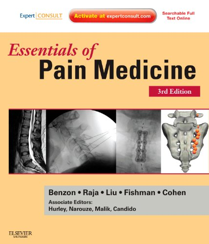 Essentials of Pain Medicine  3rd 2011 edition cover