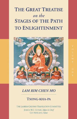 Great Treatise on the Stages of the Path to Enlightenment (Volume 1)   2015 9781559394420 Front Cover