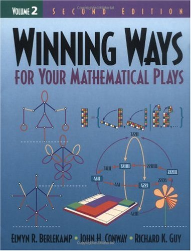 Winning Ways for Your Mathematical Plays  2nd 2003 (Revised) edition cover