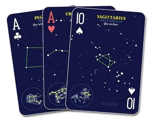 Night Sky Playing Cards  N/A 9781591932420 Front Cover