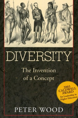 Diversity The Invention of a Concept N/A edition cover