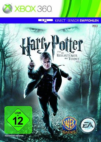 Harry Potter und die Heiligtümer des Todes - Teil 1 (Kinect empfohlen) Xbox 360 artwork