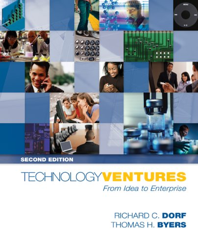 Technology Ventures From Idea to Enterprise 2nd 2008 (Revised) 9780073294421 Front Cover
