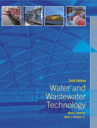 Water and Wastewater Technology  6th 2008 edition cover