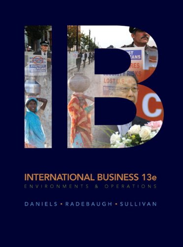 International Business  13th 2011 edition cover