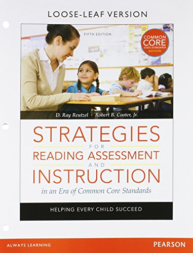 STRATEGIES F/READ.ASSESS...-ACCESS      N/A 9780133824421 Front Cover