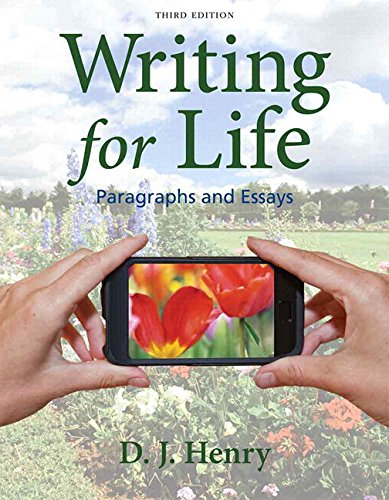 Writing for Life Paragraphs and Essays Plus MyWritingLab with EText -- Access Card Package 3rd 2014 edition cover