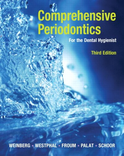 Comprehensive Periodontics for the Dental Hygienist  3rd 2010 edition cover