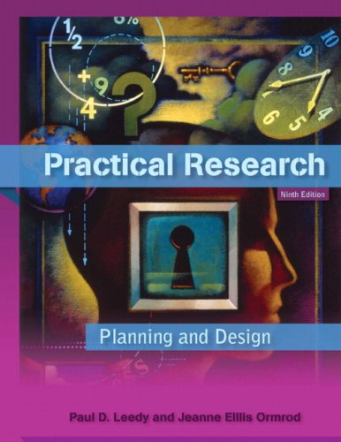 Practical Research Planning and Design 9th 2010 edition cover