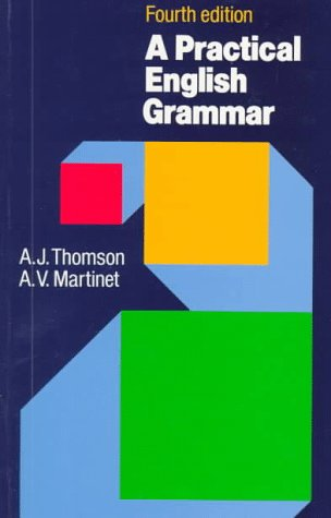 Practical English Grammar  4th 1986 (Revised) edition cover