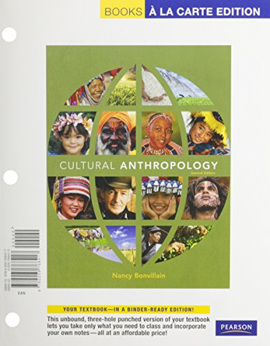 Cultural Anthropology, Books a la Carte Plus MyAnthroLab  2nd 2010 9780205772421 Front Cover