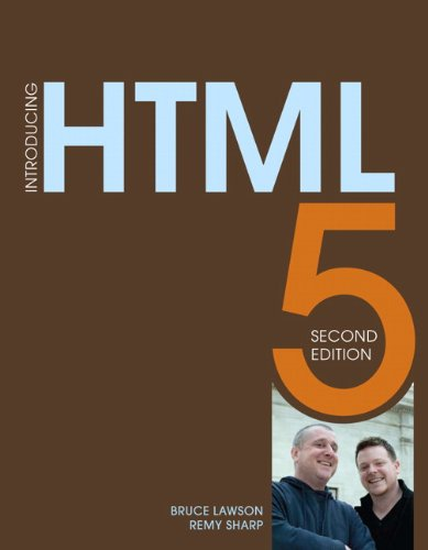 Introducing HTML5  2nd 2012 (Revised) edition cover