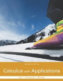 Calculus with Applications  11th 2016 9780321979421 Front Cover