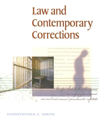 Law and Contemporary Corrections   2000 edition cover
