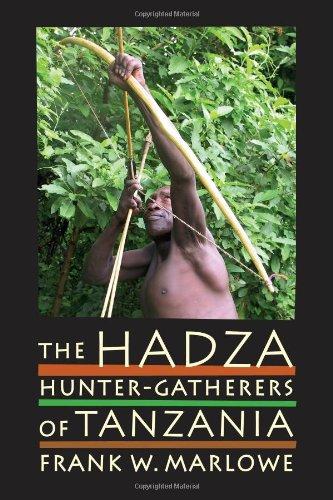 Hadza Hunter-Gatherers of Tanzania  2010 edition cover