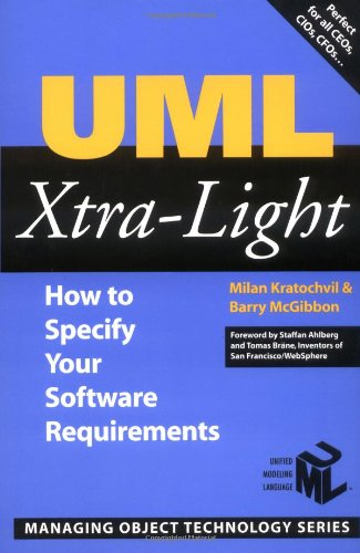 UML Xtra-Light How to Specify Your Software Requirements  2002 9780521892421 Front Cover