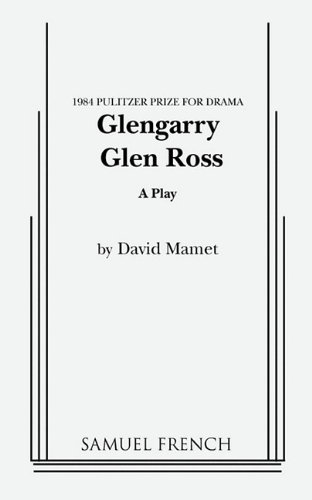 Glengarry Glen Ross A Play  2011 edition cover