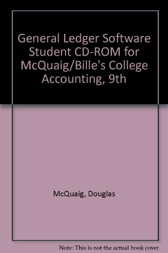 College Accounting  9th 2008 9780618855421 Front Cover