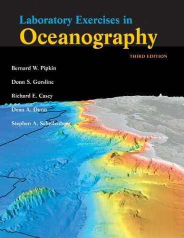 Laboratory Exercises in Oceanography  3rd 2000 (Revised) edition cover