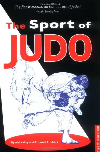 Sport of Judo  2nd edition cover