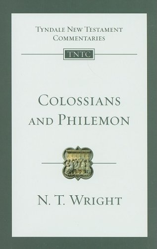Colossians and Philemon   2009 edition cover