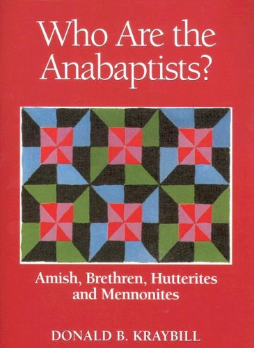Who are the Anabaptists? : Amish, Bretheren, Hutterites, Mennonites 1st 2003 edition cover