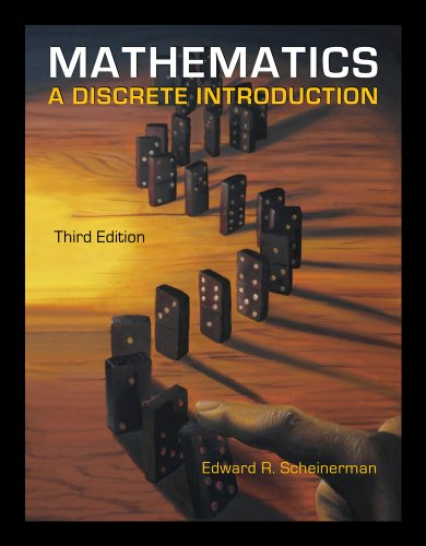 Mathematics A Discrete Introduction 3rd 2013 (Revised) 9780840049421 Front Cover