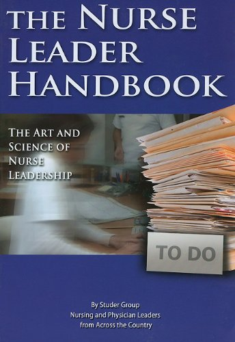 Nurse Leader Handbook The Art and Science of Nurse Leadership N/A edition cover