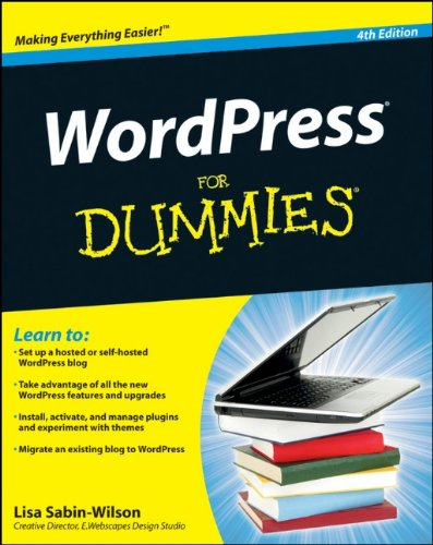 WordPress for Dummies  4th 2011 edition cover