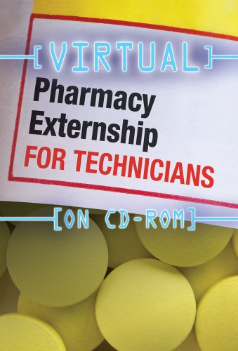 Virtual Pharmacy Externship for Technicians (CD-ROM)   2011 edition cover