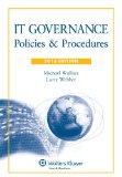 It Governance: Policies & Procedures, 2013 Edition  2012 edition cover
