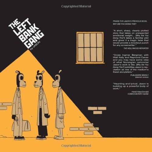 Left Bank Gang   2006 9781560977421 Front Cover