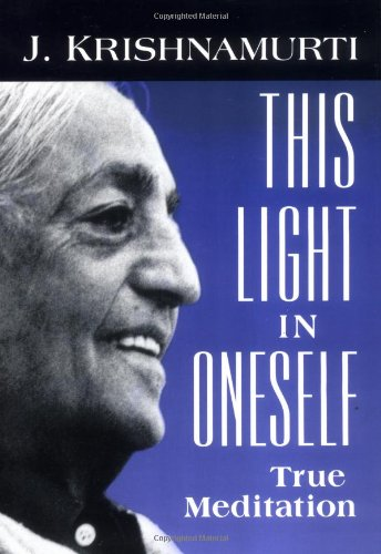 This Light in Oneself   1999 edition cover