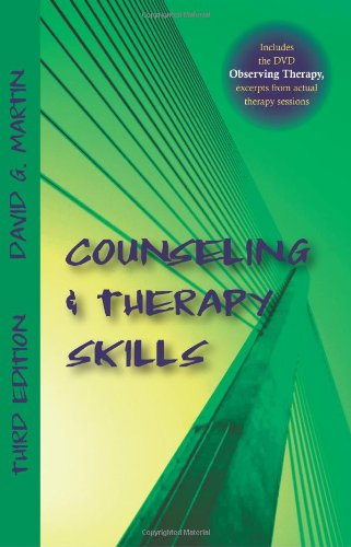 Counseling and Therapy Skills  3rd 2011 edition cover