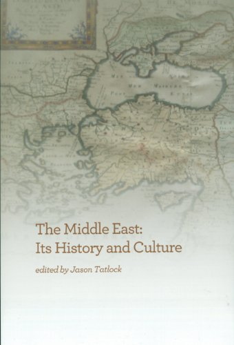 Middle East Its History and Culture  2012 9781934309421 Front Cover