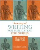 Anatomy of Writing for Publication for Nurses:   2014 edition cover