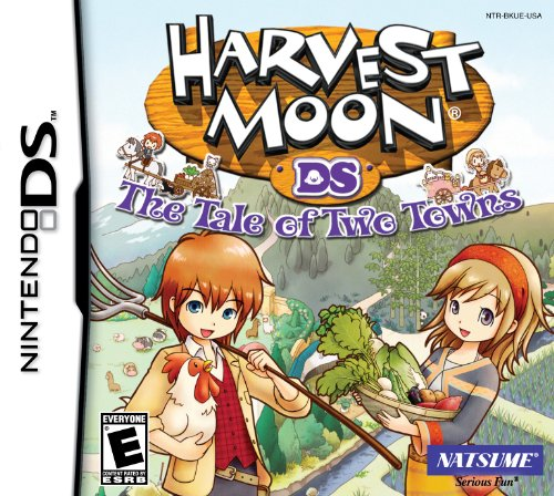 Harvest Moon: Tale of Two Towns - Nintendo DS Nintendo DS artwork
