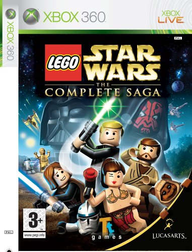 LEGO Star Wars: The Complete Saga (Xbox 360) by LucasArts Xbox 360 artwork