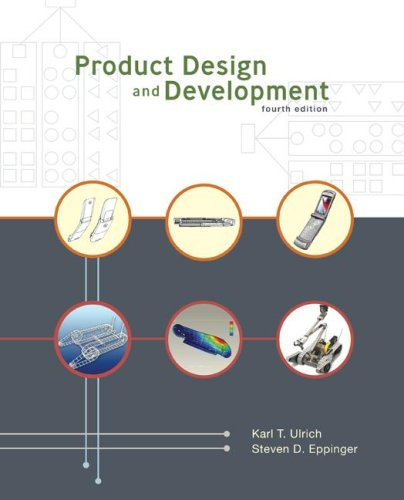 Product Design and Development  4th 2008 (Revised) edition cover