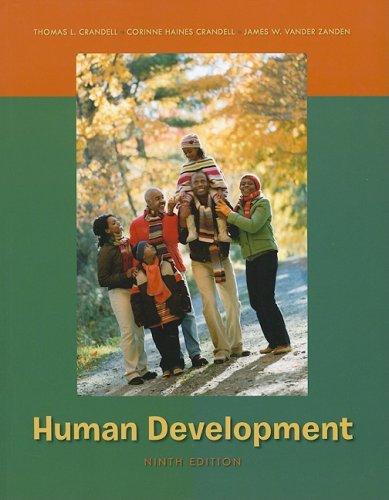 Human Development  9th 2009 edition cover