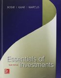 Essentials of Investments:  10th 2016 9780077835422 Front Cover