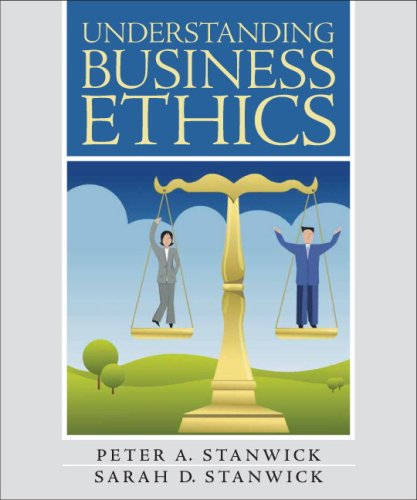 Understanding Business Ethics   2009 edition cover