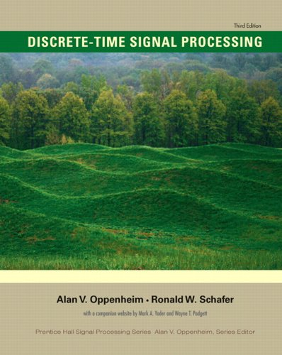 Discrete-Time Signal Processing  3rd 2010 edition cover