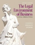 Legal Environment of Business A Critical Thinking Approach 7th 2015 edition cover