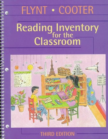 Reading Inventory for the Classroom 3rd 1998 edition cover