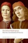 Oxford Shakespeare The Two Gentlemen of Verona  2008 edition cover