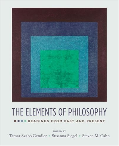 Elements of Philosophy Readings from Past and Present  2008 edition cover